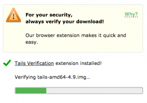 TAILS OS Secure Download